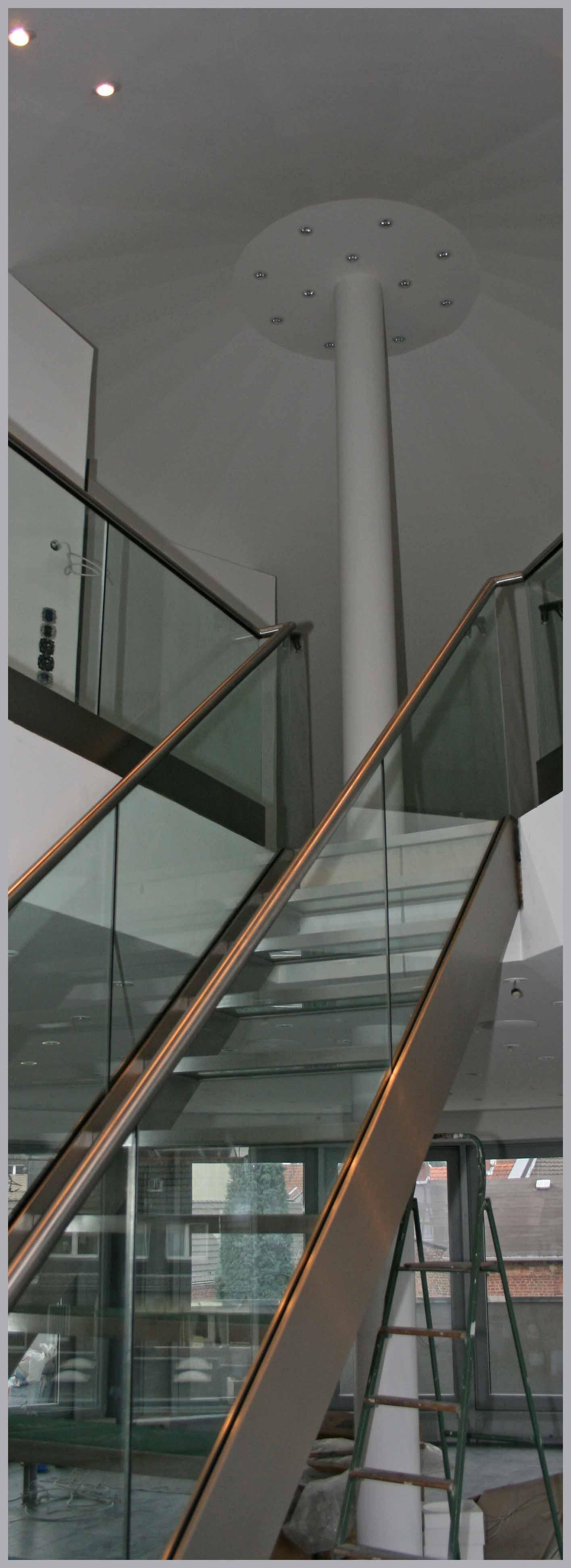 Treppe - Glas