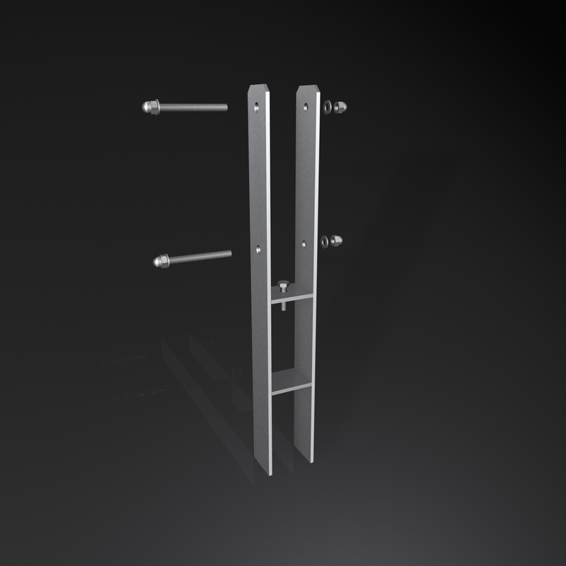 h anker aus edelstahl 71 141mm lichtes innenma geschliffe. Black Bedroom Furniture Sets. Home Design Ideas