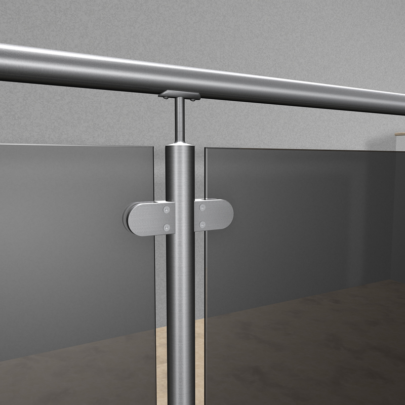 edelstahlgel nder r line vsg esg sicherheitsglas parsol. Black Bedroom Furniture Sets. Home Design Ideas