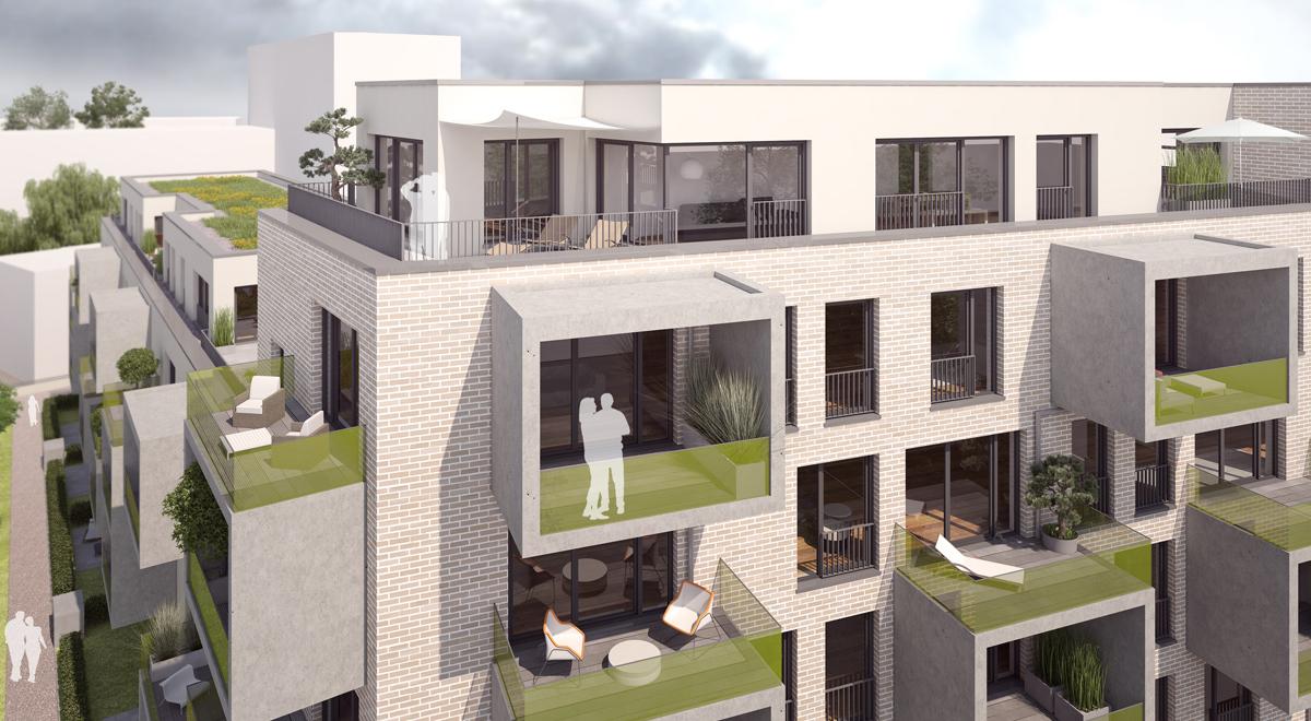 Treppengeländer Holz Dortmund ~ Die Innenliegenden Balkone, die  Frames  bieten den Bewohnern eine